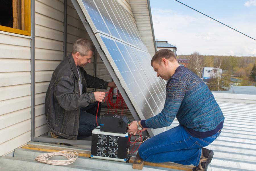 Что такое солнечное электричество