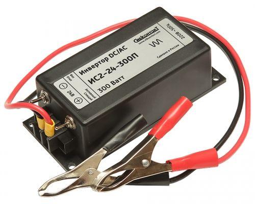 ИС2-24-300П инвертор, преобразователь напряжения DC/AC, 24В/220В, 300Вт